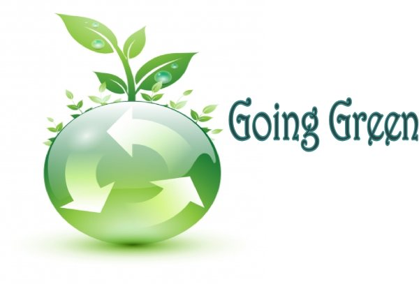 go green essays Environment essay 1 (100 words) an environment is the natural surroundings which help life to grow, nourish and destroy on this planet called earth.